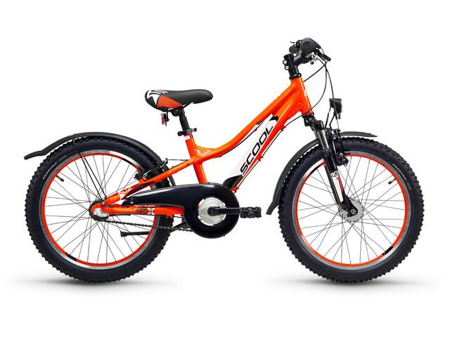 s'cool troX urban 20 3-S Børnecykel alloy orange